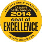 "Creative Child Magazine ""Book of the Year"" Award"